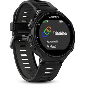 Garmin Forerunner 735XT Running Watch, black/grey